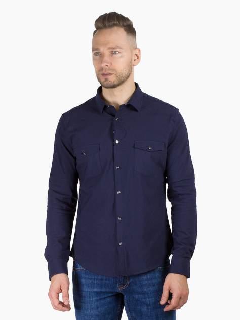 Рубашка мужская DAIROS GD81100384, синий