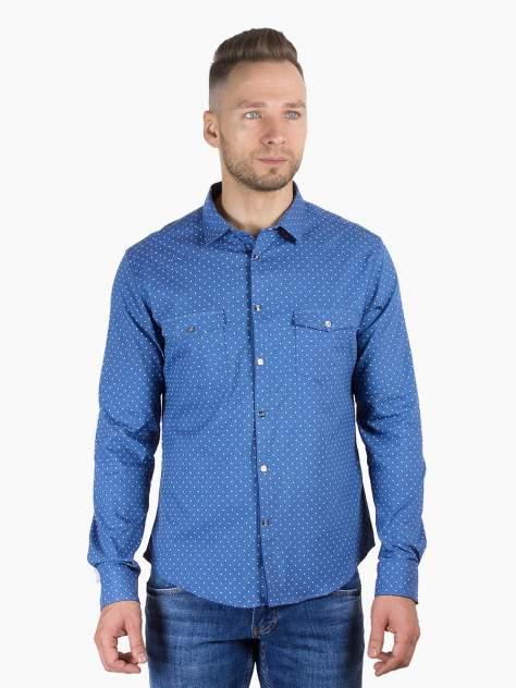 Рубашка мужская DAIROS GD81100383, синий
