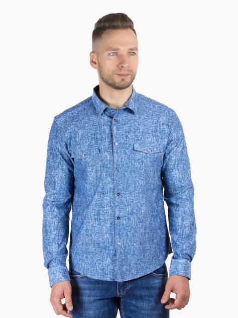 Рубашка мужская DAIROS GD81100379, синий