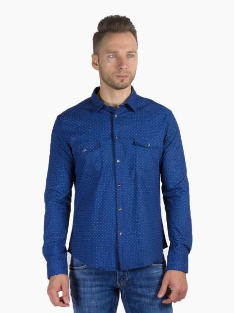 Рубашка мужская DAIROS GD81100378, синий