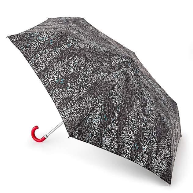 Зонт складной женский механический Fulton L718-3147 черный