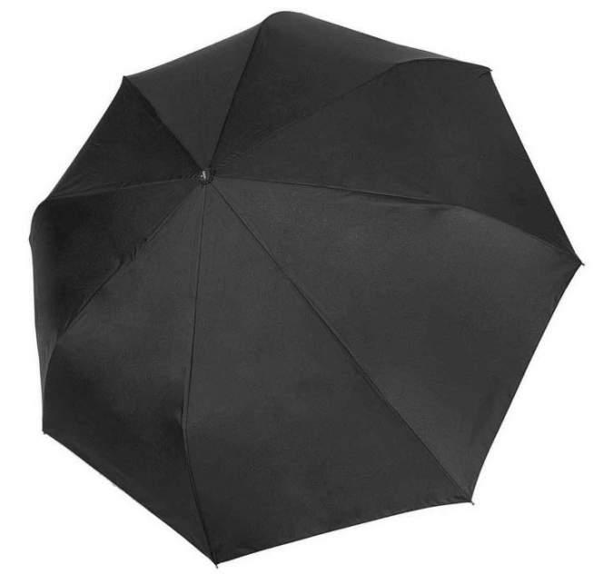 Зонт складной мужской автоматический Три Слона 795 черный