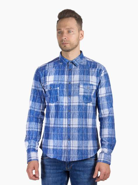 Рубашка мужская DAIROS GD81100377, синий
