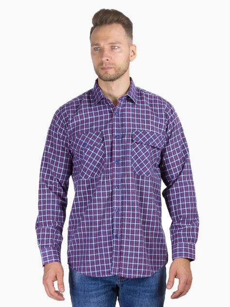 Рубашка мужская DAIROS GD81100374, синий