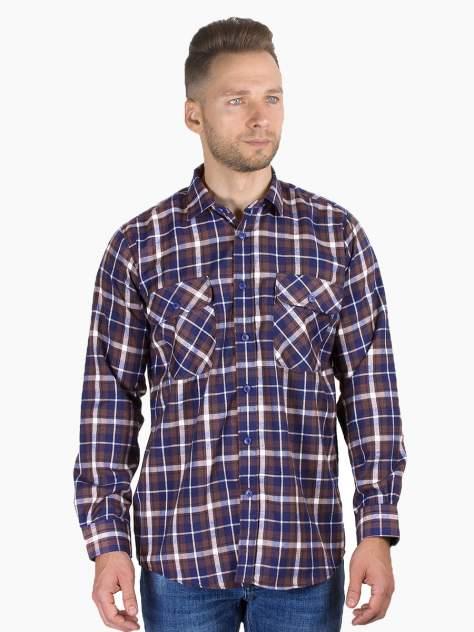 Рубашка мужская Dairos GD81100371 коричневая M