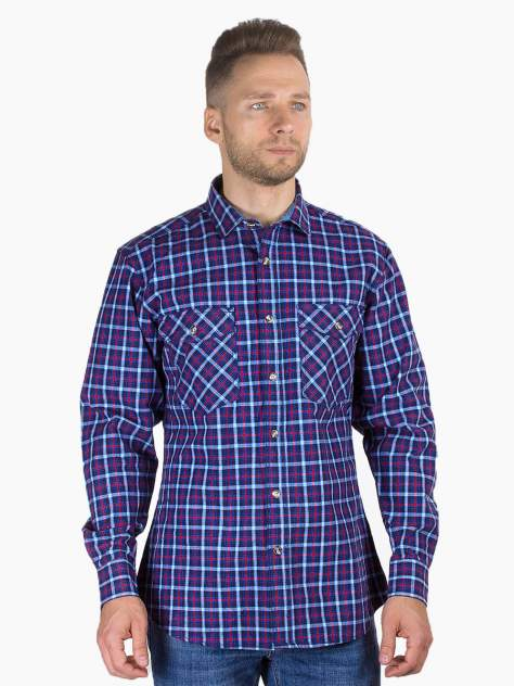 Рубашка мужская Dairos GD81100366 красная 3XL