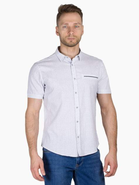 Рубашка мужская Dairos GD81100352 белая 4XL