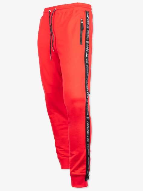 Спортивные брюки Великоросс B345, красные, 56 RU