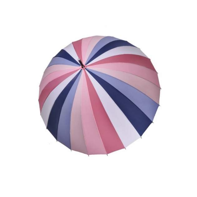 Зонт-трость женский механический Три Слона 2400-0097-01 разноцветный