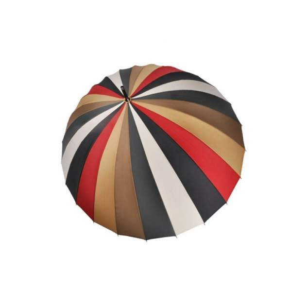 Зонт-трость женский механический Три Слона 2400-0097-02 разноцветный