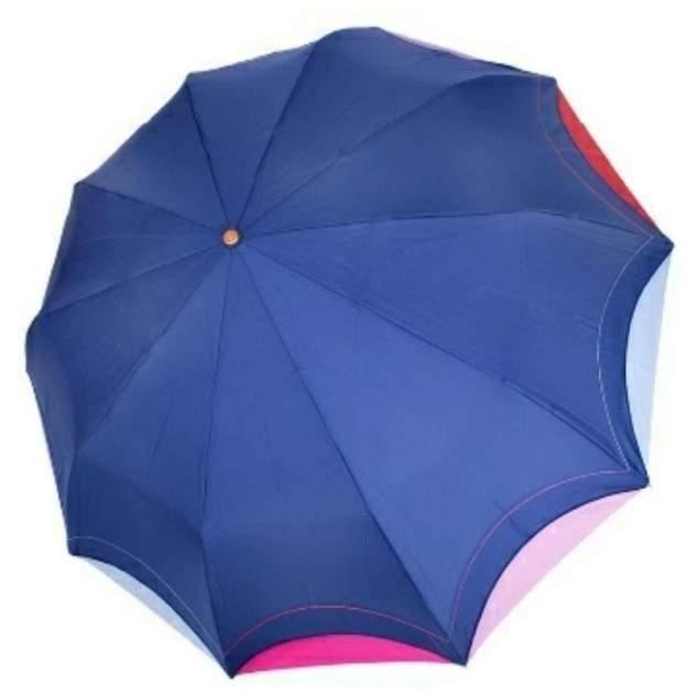 Зонт складной женский автоматический Три Слона 110-B-0114-05 синий