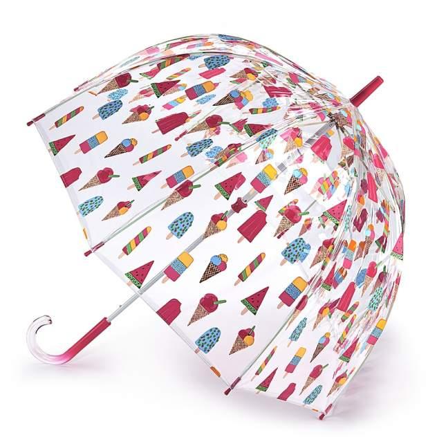 Зонт-трость женский механический Fulton L546-3681 розовый