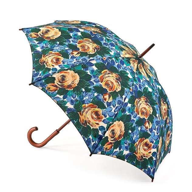 Зонт-трость женский механический Fulton L541-3061 синий