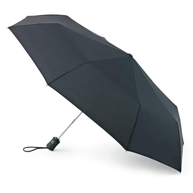 Зонт складной женский автоматический Fulton L345-01 черный