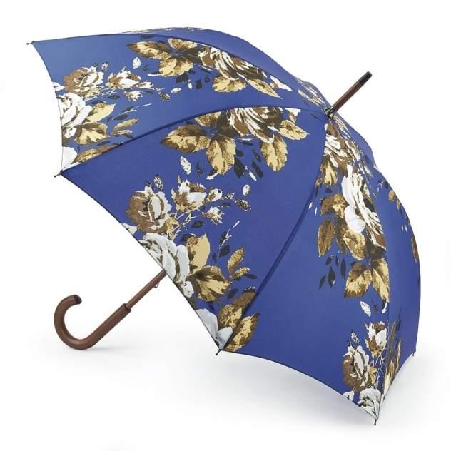 Зонт-трость женский механический Fulton L056-2638 синий