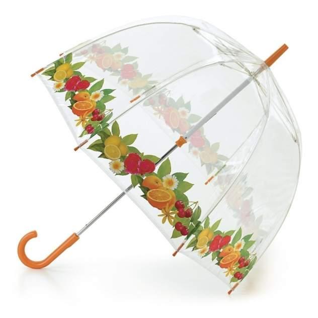 Зонт-трость женский механический Fulton L042-2314 оранжевый