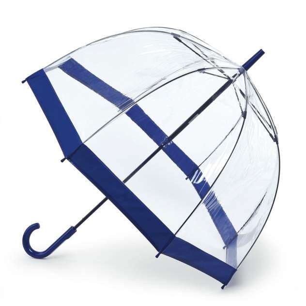 Зонт-трость женский механический Fulton L041-033 синий