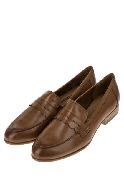 Лоферы женские Tamaris 1-1-24215-24 коричневые 38 DE