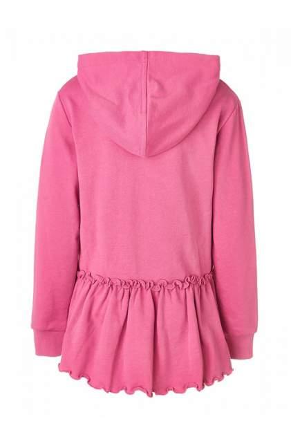 Толстовка для девочки Button Blue, цв.розовый, р-р 104