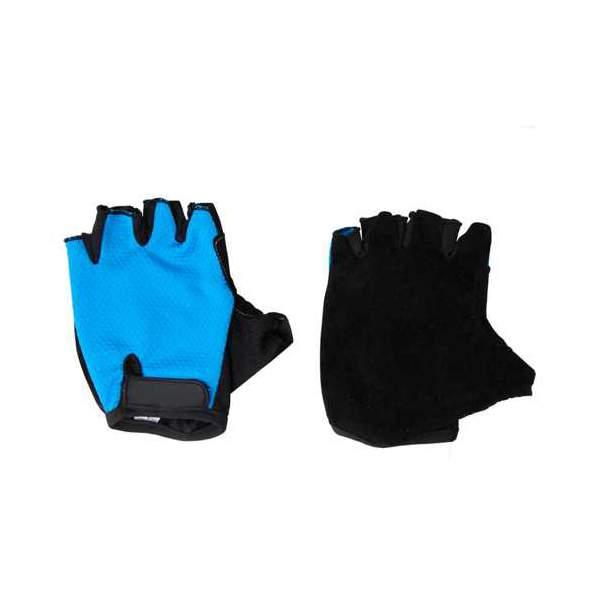 Перчатки велосипедные Ecos VEL-23-5, синие, размер XL (323273)