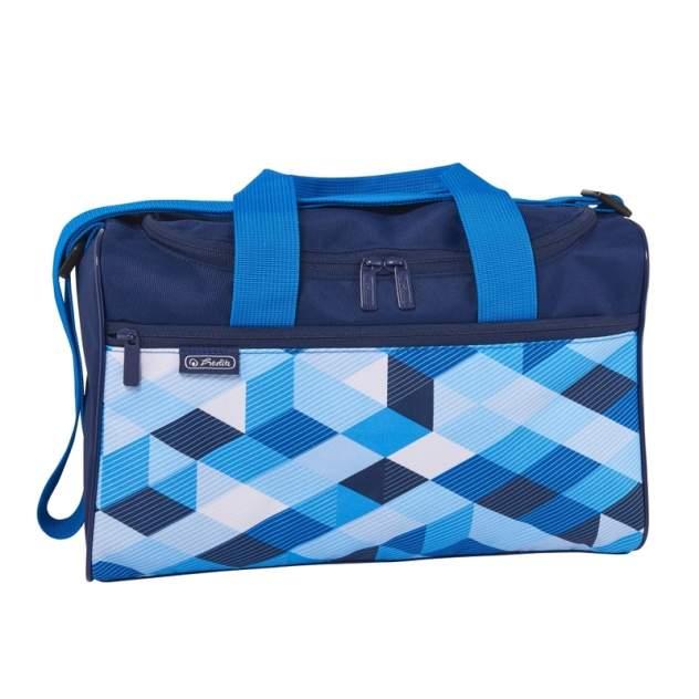 Сумка детская Herlitz спортивная Blue Cubes Herlitz для мальчиков темно-синий 50021918