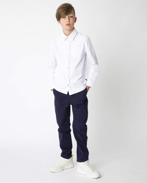 Белая рубашка на кнопках Gulliver, модель 220GSBC1410, р. 146