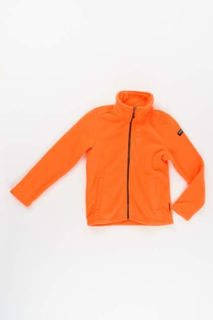 Флисовая толстовка для мальчика Icepeak, цв.оранжевый, р-р 164