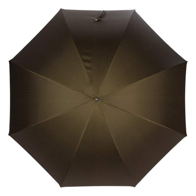 Зонт-трость мужской полуавтоматический Pasotti Tigrato Punto Hickory коричневый