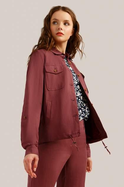 Куртка женская Finn-Flare S19-11032 бордовая S