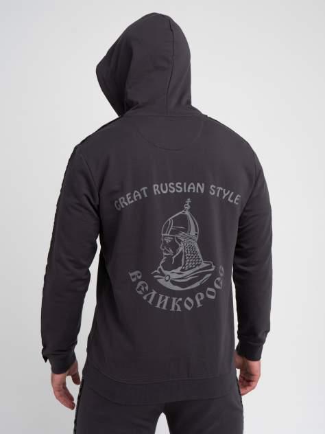 Толстовка мужская Великоросс 5, черный