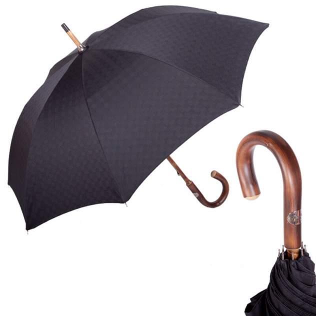 Зонт-трость мужской механический Pasotti Chestnut Di Legno Strong черный
