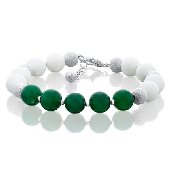 Браслет женский L'attrice 53655121 зеленый