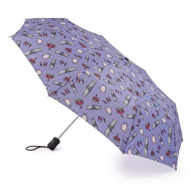 Зонт складной женский автоматический Fulton J346-3360 фиолетовый