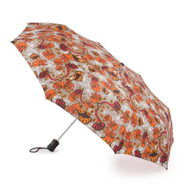 Зонт складной женский автоматический Fulton J346-3359 оранжевый