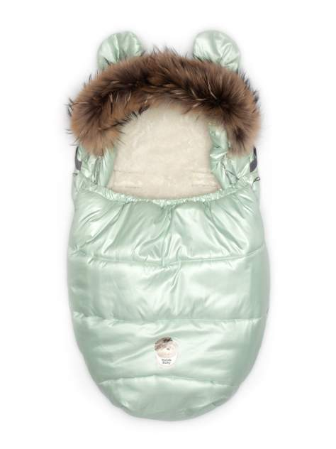 Конверт для сна и прогулок Malek-Baby Мята 512Ш/2 мятный р. 98