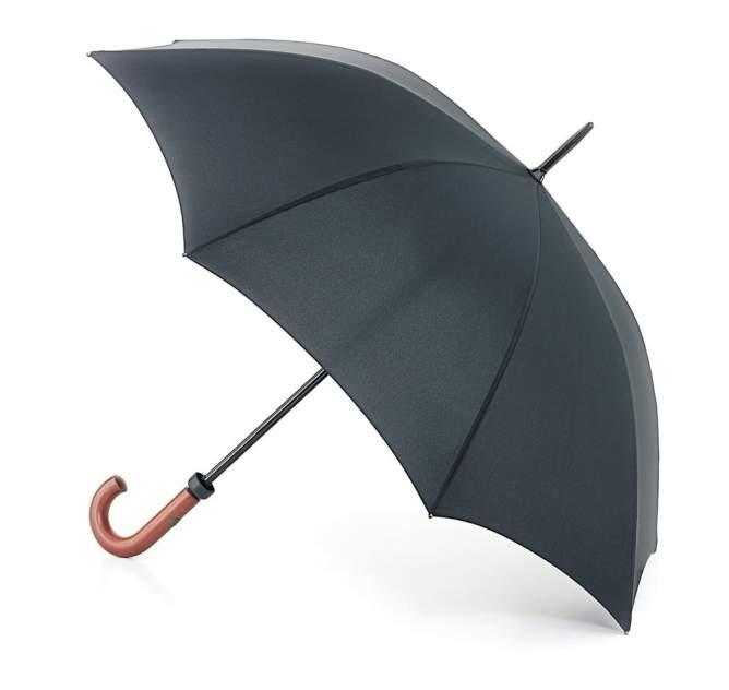 Зонт-трость мужской механический Fulton G813-01 черный