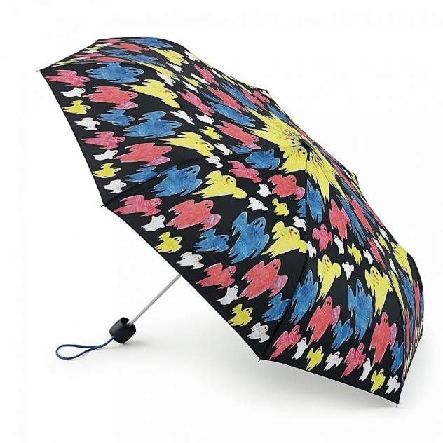 Зонт складной женский механический Fulton E446-2450 разноцветный
