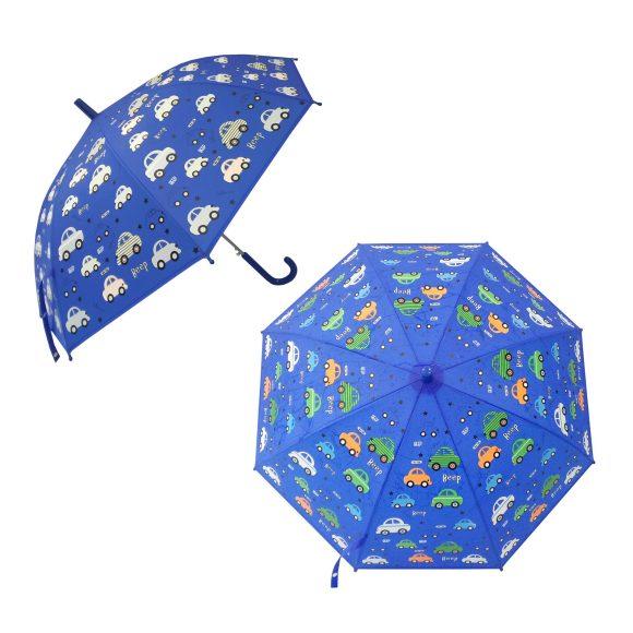 Зонт детский Mary Poppins Машинки, рисунок проявляется, полуавтомат, 48,5 см