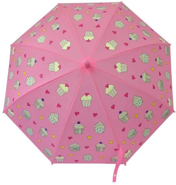 Зонт детский Mary Poppins Пирожное, рисунок проявляется, полуавтомат, 48,5 см