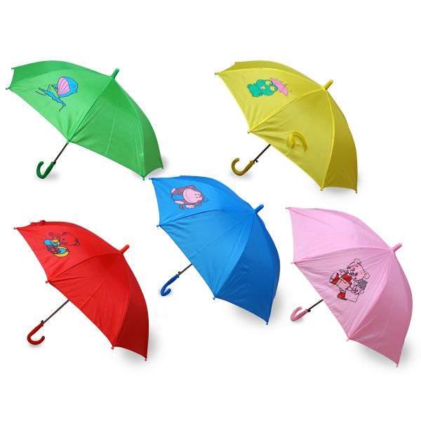 Цветной зонт Shantou Gepai Одноцвет из ткани, 45 см