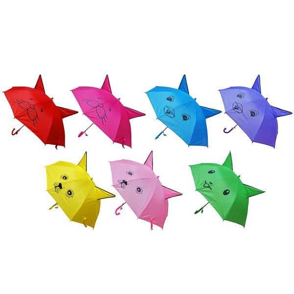 Зонт с ушками Shantou Gepai со свистком, 45 см