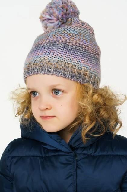 Шапка детская Sela, цв. фиолетовый р-р 52