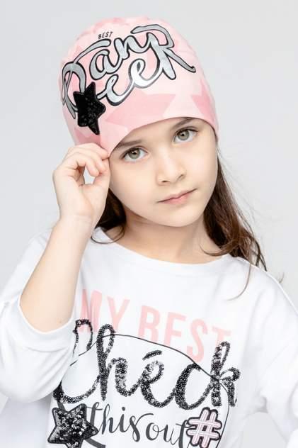 Шапка детская Gulliver, цв. розовый р-р 50