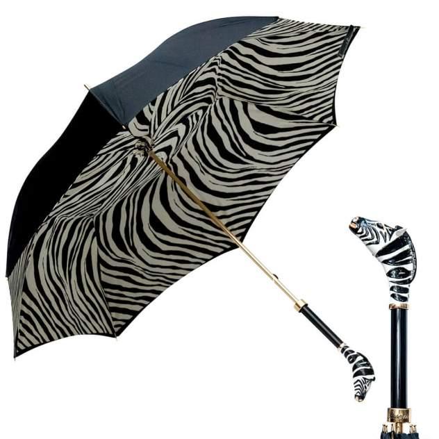 Зонт-трость женский механический Pasotti 2040 белый/черный