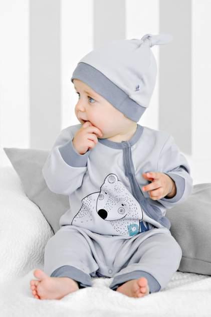 Шапка детская Bossa Nova, цв. серый р-р 49