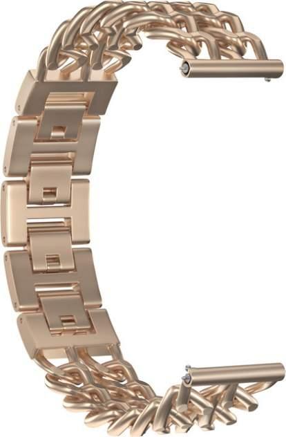 Ремешок для часов GSMIN Double Chain Matte 22 для GearS3/GalaxyWatch(46mm) Бронзовый