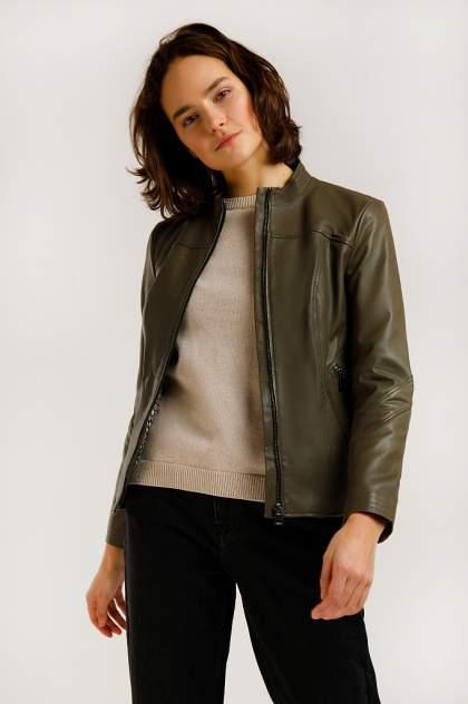 Куртка женская Finn-Flare B20-11806 зеленая S