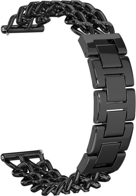 Ремешок для часов GSMIN Double Chain 22 для GearS3/GalaxyWatch(46mm) Черный