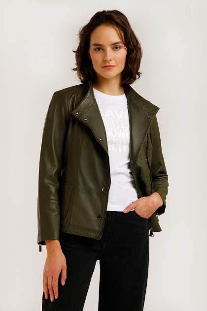 Куртка женская Finn-Flare B20-11800 зеленая S