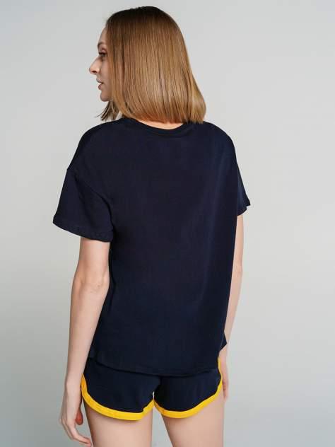 Пижама женская ТВОЕ 67989 синяя XL